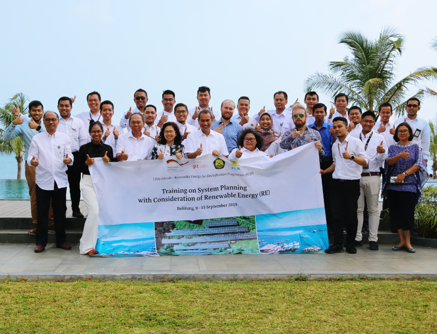 Training seminar in Belitung, September 2019