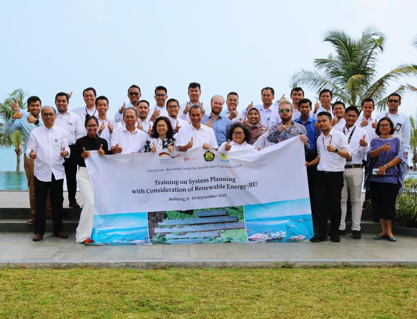 Training seminar in Belitung, September 2019