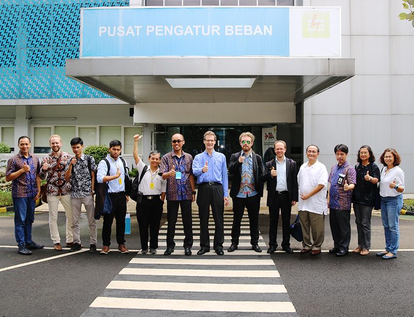 PLN Dispatch Center Jakarta, January 2020